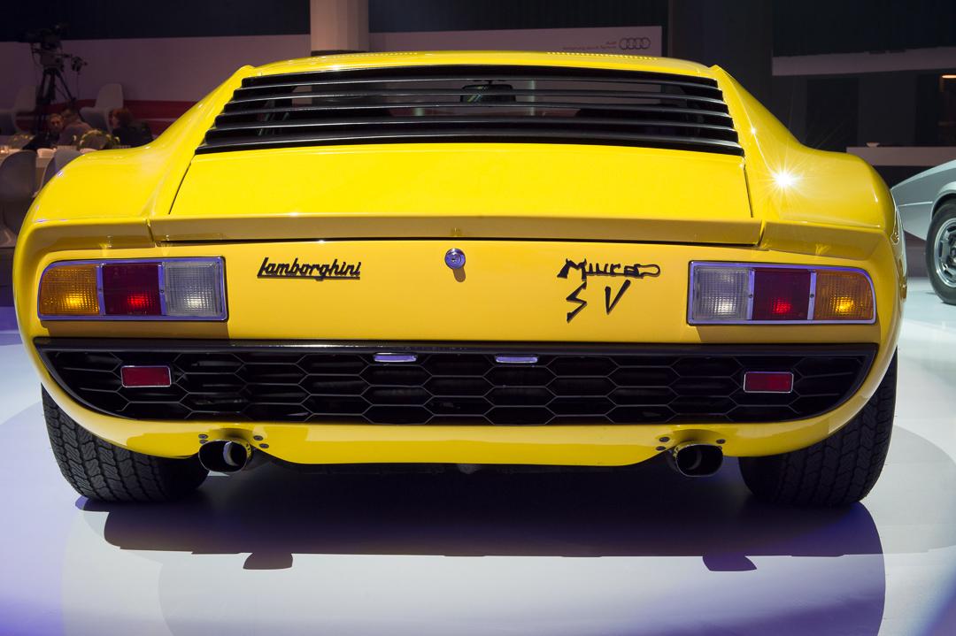 1972 Lamborghini Miura P400sv Gelb Motorkultur