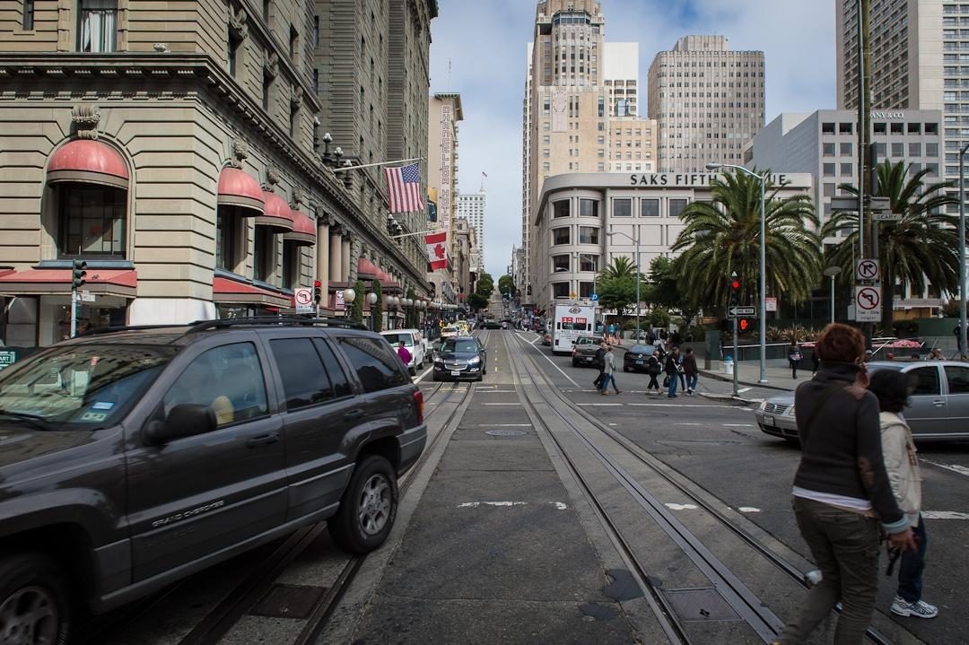 In den Straßen von San Francisco.