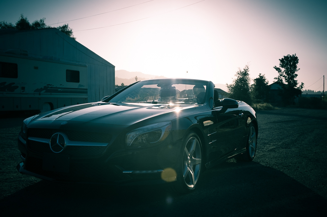 2012 Mercedes-Benz SL 550 R231