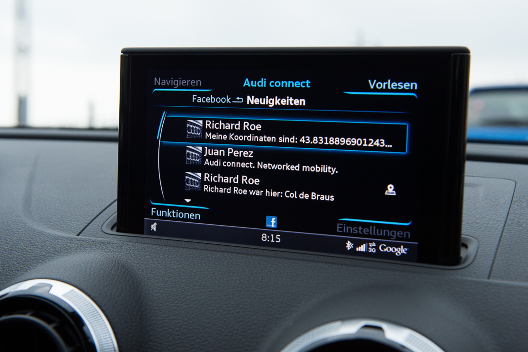 Die neue Audi MMI-Generation im 2013 Audi A3 Sportback (8V) ›