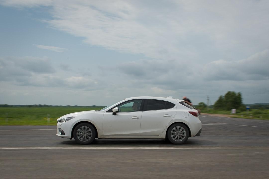 2013 Mazda3 Skyactiv-G 120 (BM) – Fahrbericht meiner Probefahrt mit Mazda durch Sibirien