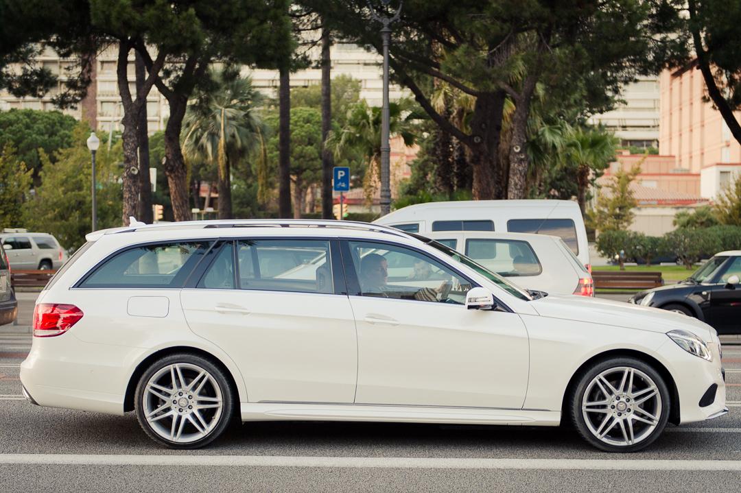 Firmenwagen mit familienanschluss unterwegs mit dem 2013 for Mercedes benz e 250