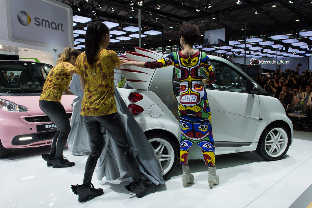 Fotos Auto Shanghai 2013 smart fortwo edition by Jeremy