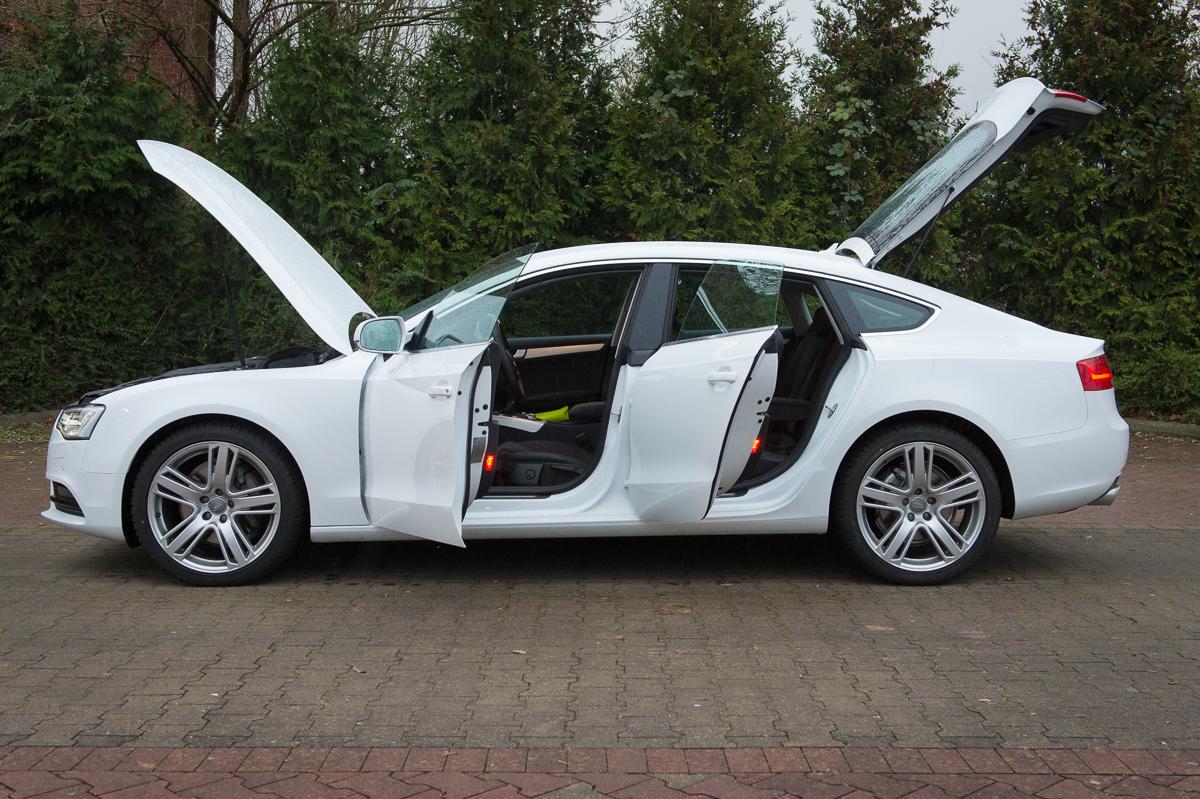Auf Einen Kaffee Mit Dem 2014 Audi A5 Sportback 2 0 Tfsi
