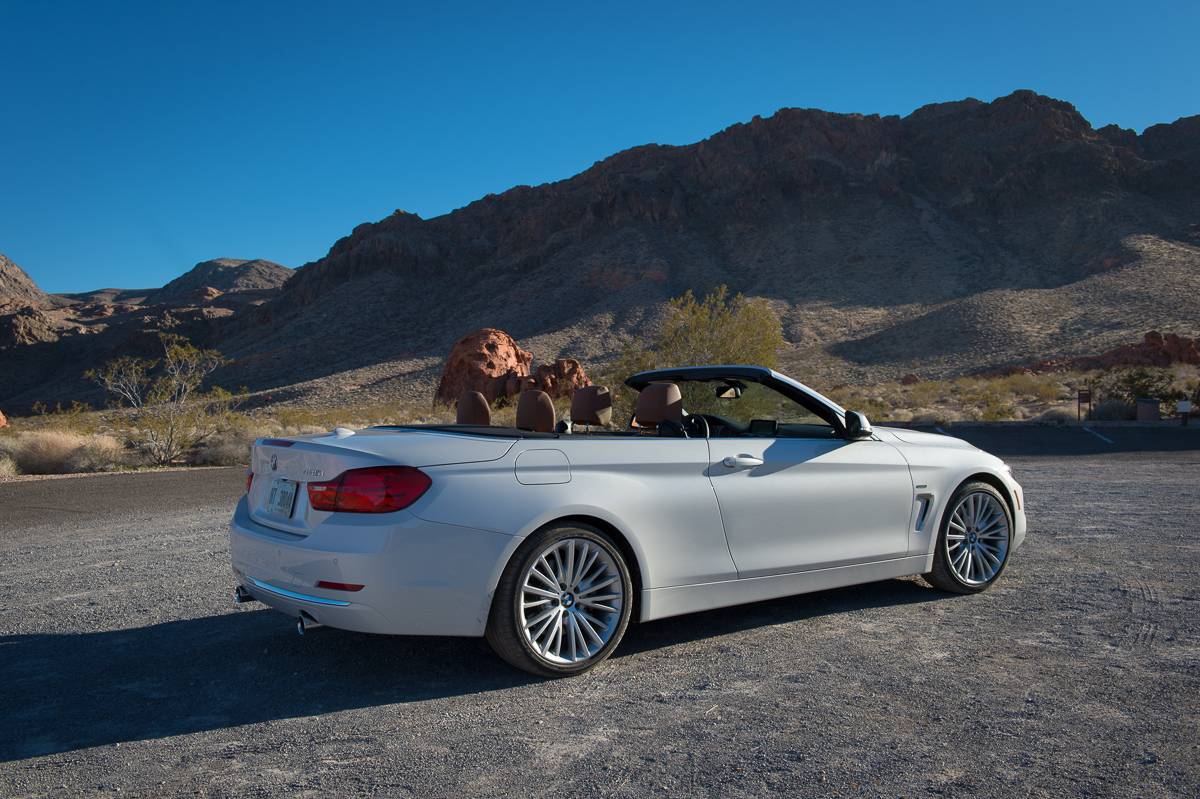 fear and loathing in las vegas mit dem 2014 bmw 435i cabriolet auto geil. Black Bedroom Furniture Sets. Home Design Ideas