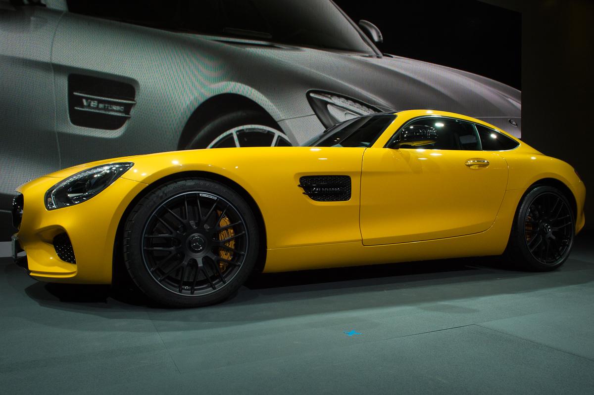 Weltpremiere 2014 Mercedes Amg Gt C190 Alles Richtig Gemacht