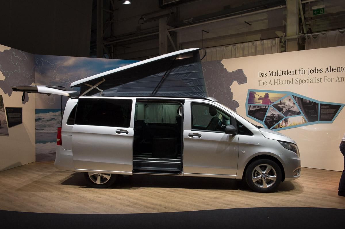 schon drin gesessen der neue 2014 mercedes benz marco polo activity auto geil. Black Bedroom Furniture Sets. Home Design Ideas