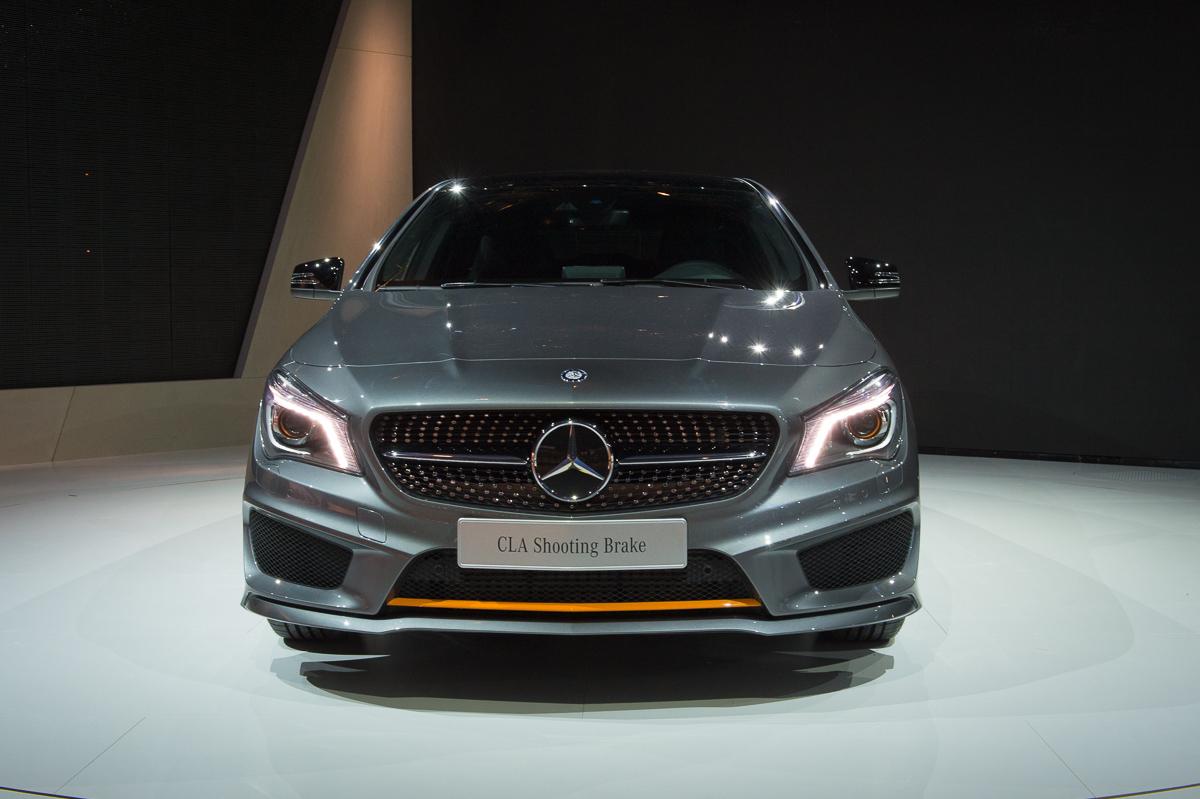 Fotos Weltpremiere: 2015 Mercedes-Benz CLA 250 4MATIC Shooting Brake