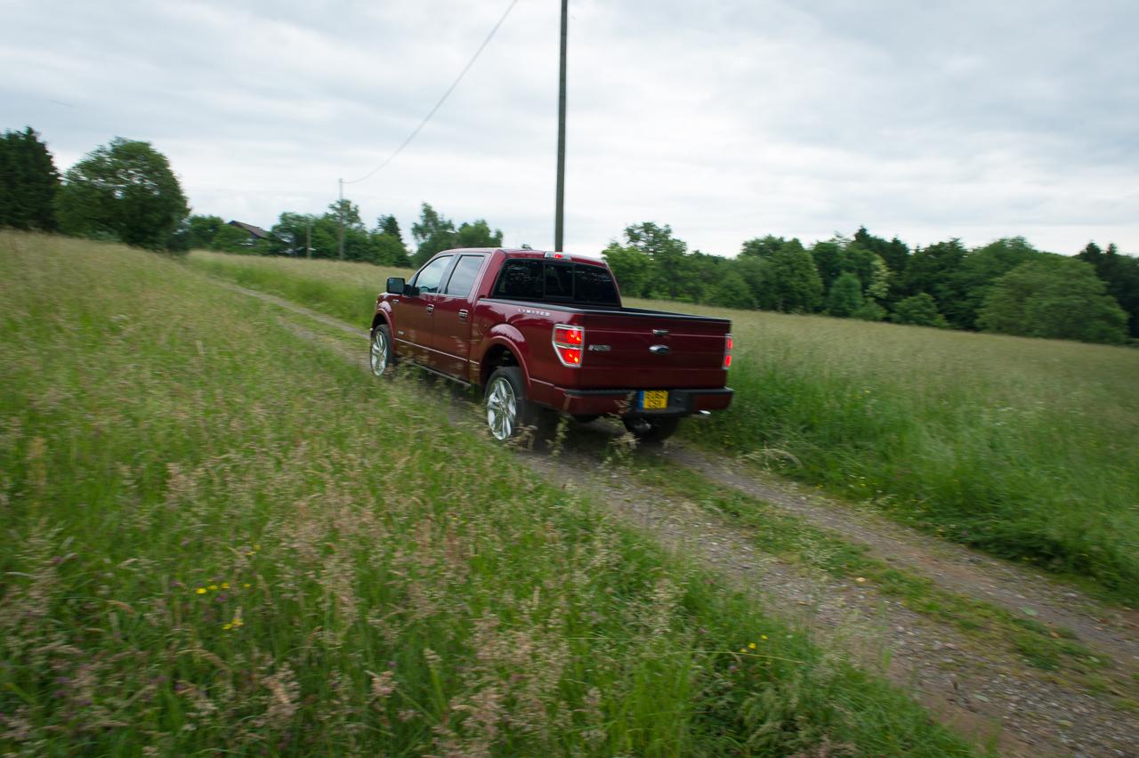 Angefahren 2013 Ford F 150 3 5 Ecoboost V6 Limited