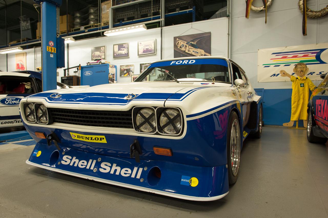 Einblick in die ford classic garage im werk in k ln niehl for Garage ford auch