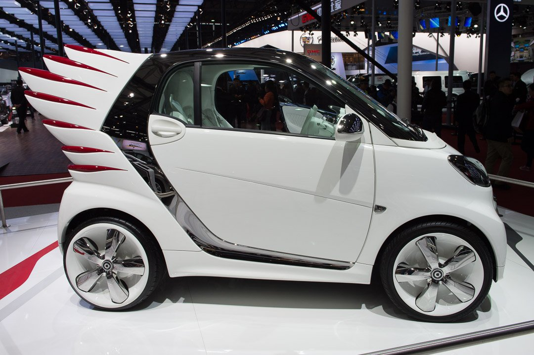 Fotos Auto Shanghai 2013 smart fortwo edition by Jeremy Scott