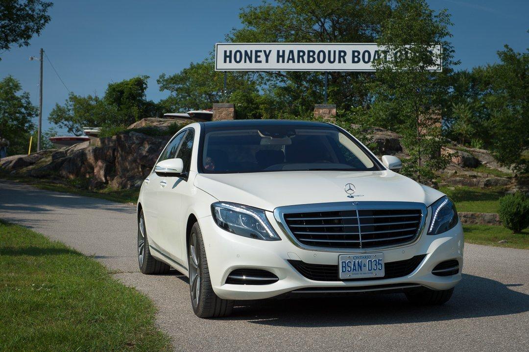 2013 Mercedes-Benz S500 (W222) – Fahrbericht einer Probefahrt nach Honey Harbour