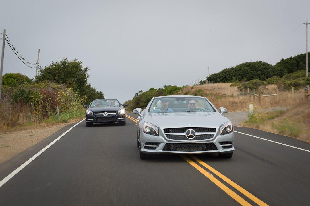 Mit dem Mercedes-Benz SL zu Besuch in George Lucas' Skywalker Ranch
