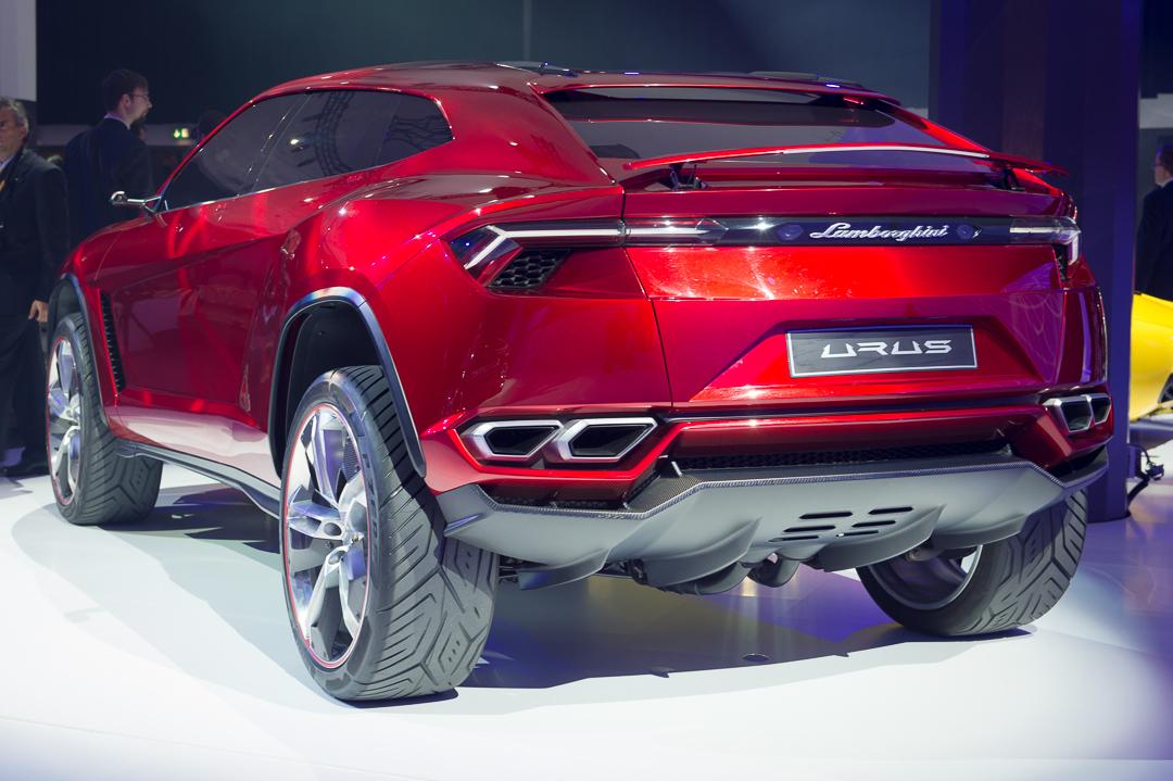 Das Suv Tier Mit Stier 2012 Lamborghini Urus Concept