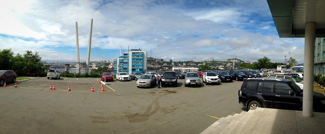 #MazdaRoute3 – Tag2 – Vladivostok
