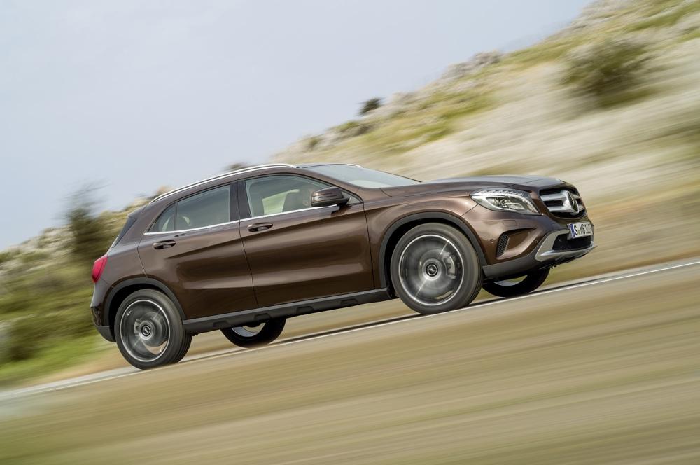 Erste Pressebilder: 2013 Mercedes-Benz GLA (X156)