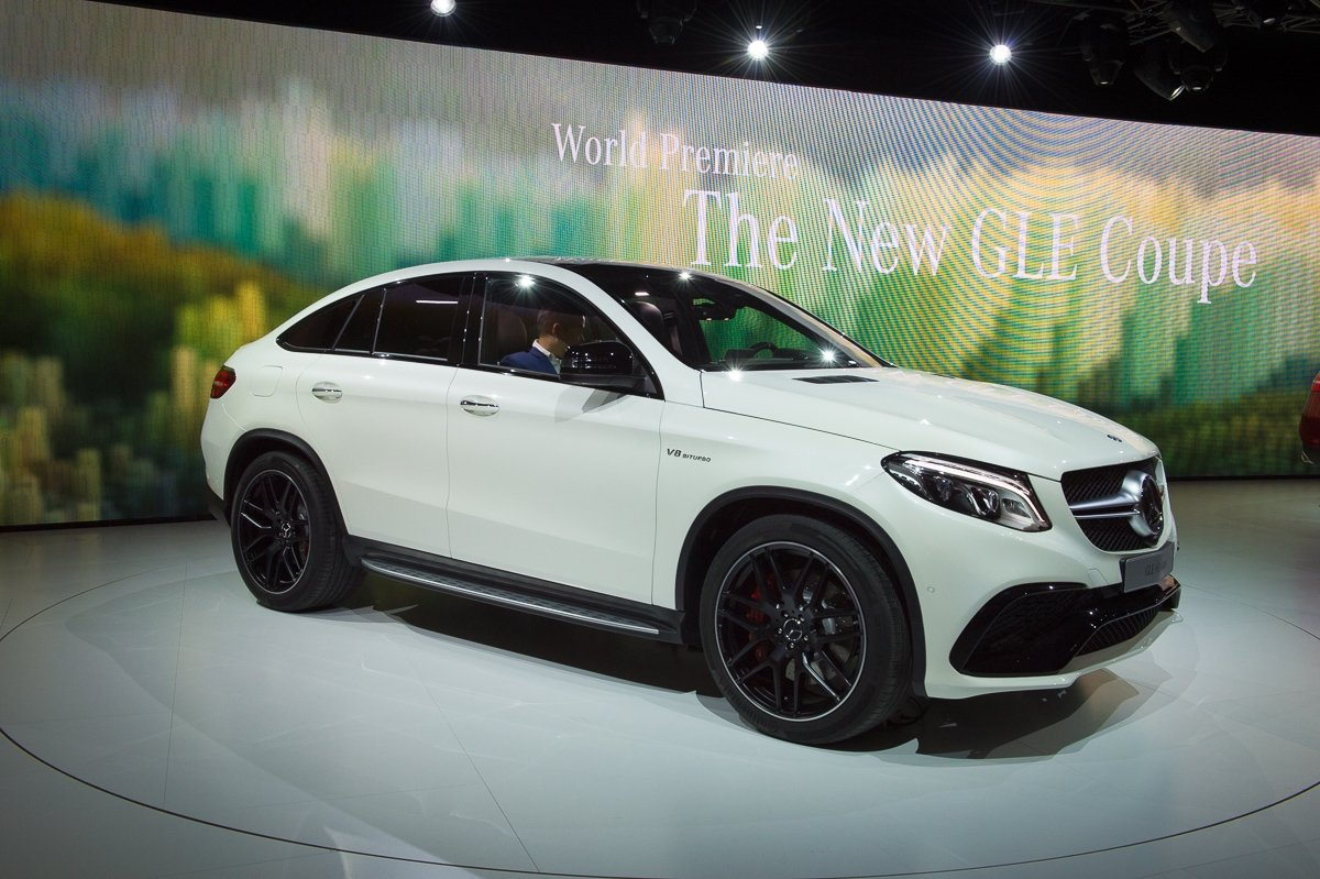 fotos weltpremiere 2015 mercedes amg gle 63 coup 4matic. Black Bedroom Furniture Sets. Home Design Ideas