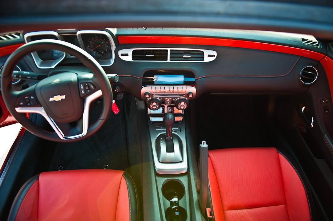 Probefahrt Chevrolet Camaro V8 Auto Geil