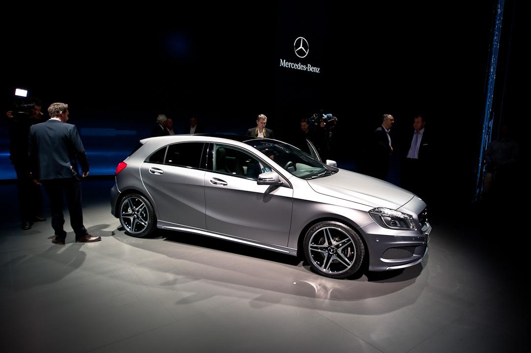 Mercedes-Benz-A-Klasse-W176-Auto-Salon-Genf-Weltpremiere-020