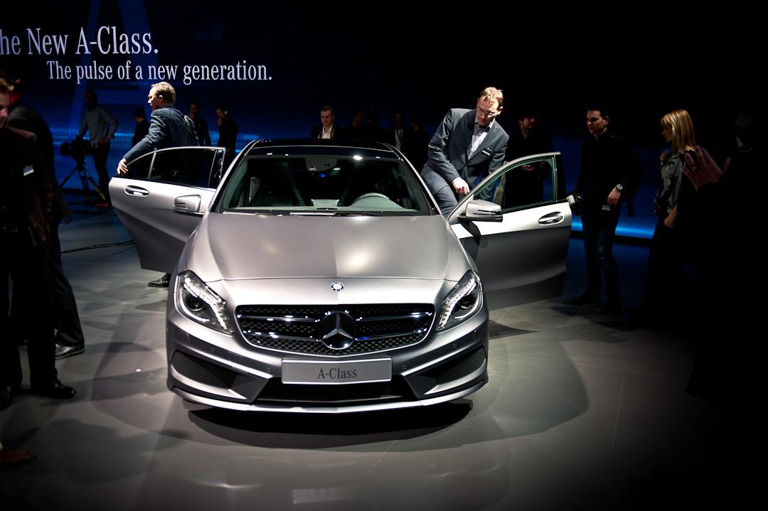 Mercedes-Benz-A-Klasse-W176-Auto-Salon-Genf-Weltpremiere-025