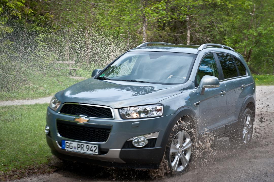 Kurz gefahren: Chevrolet Captiva LTZ 2.2 Diesel 4WD