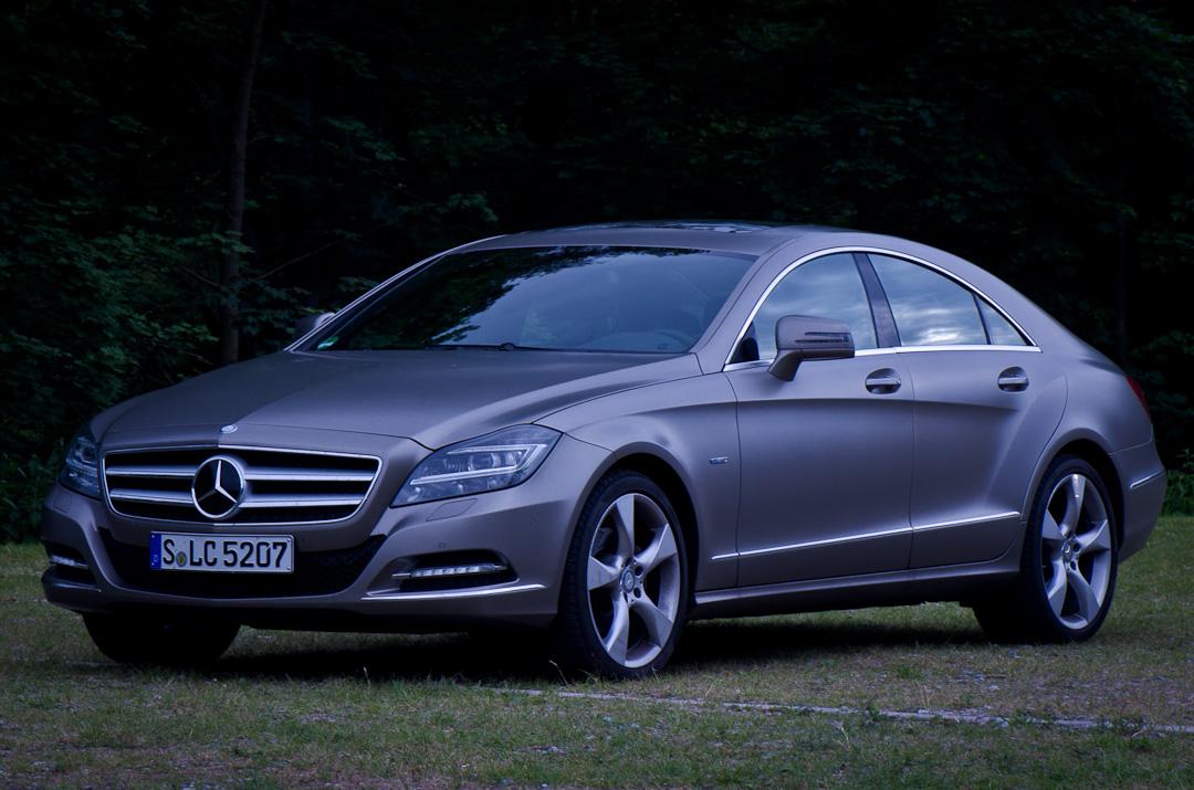 Mercedes benz cls 350 cdi c218 oder entschleunigung in for Mercedes benz 350 cdi