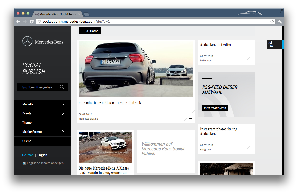 Mercedes-Benz social.publish