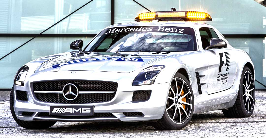 Mercedes-Benz SLS AMG GT official F1™ Safety Car