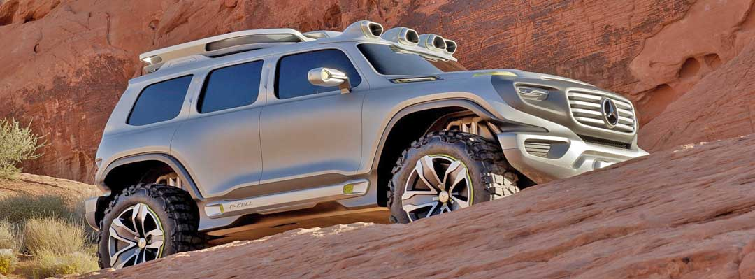 Mercedes-Benz Ener-G-Force G-Klasse Concept Car