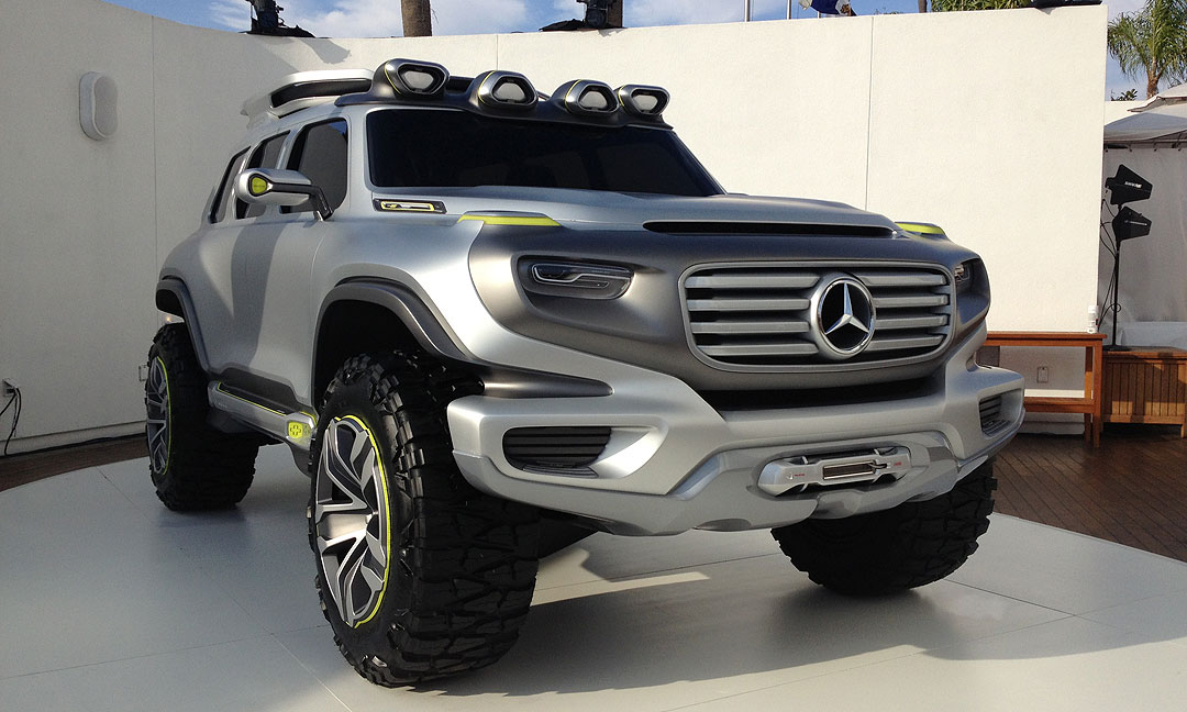 mercedes benz ener g force concept car live in l a. Black Bedroom Furniture Sets. Home Design Ideas