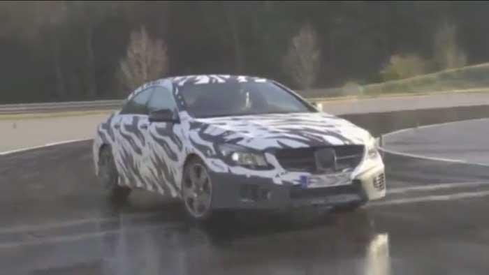 2013 Mercedes-Benz CLA 45 AMG (C117) – noch getarnt