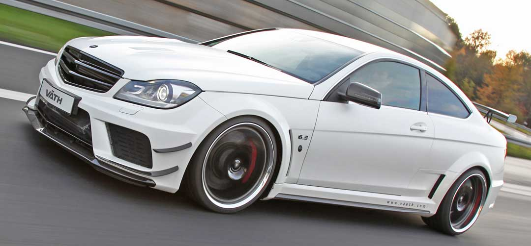 2012-C63-AMG-Coupe-VAETH-C204-BlackSeries-weiss-Front