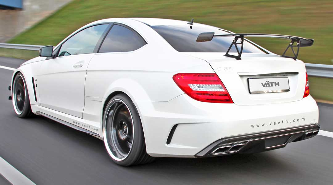 2012-C63-AMG-Coupe-VAETH-C204-BlackSeries-weiss-heck