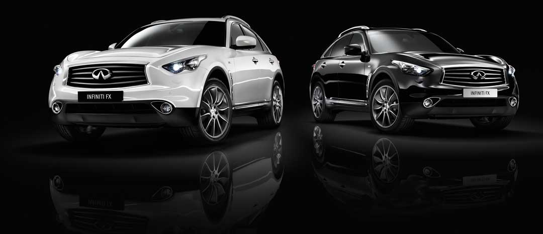 2013-Infiniti-FX-Sondermodell-Black-and-White-Edition