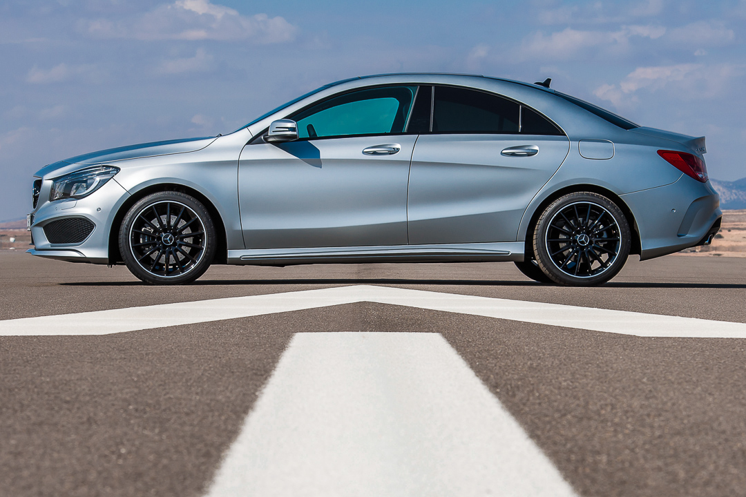 Der allradantrieb 4matic des 2013 mercedes benz cla c117 for Mercedes benz cla 250 sport 2013