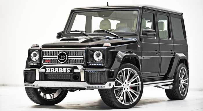 """Mercedes-Benz G-Klasse: BRABUS 800 WIDESTAR › """"Auto .. geil"""""""