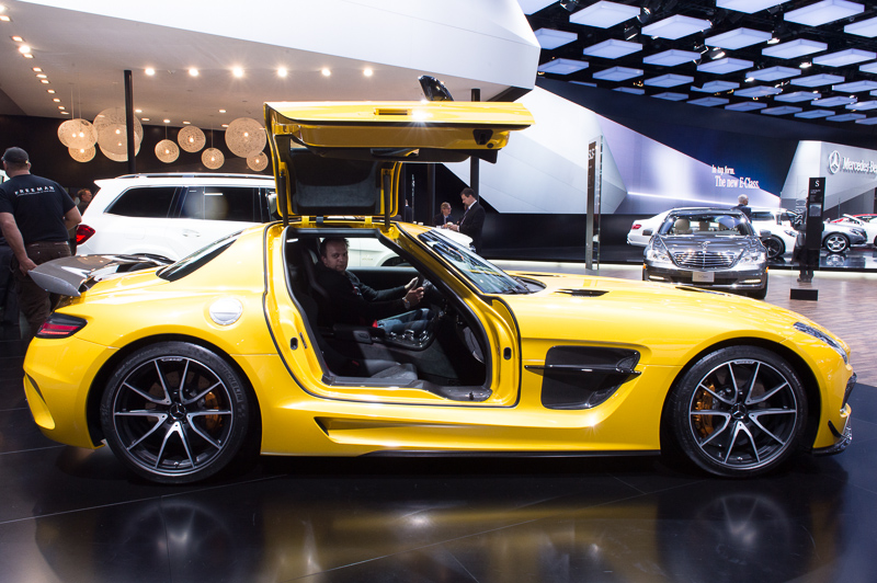 NAIAS13: 2013 Mercedes-Benz SLS AMG BlackSeries