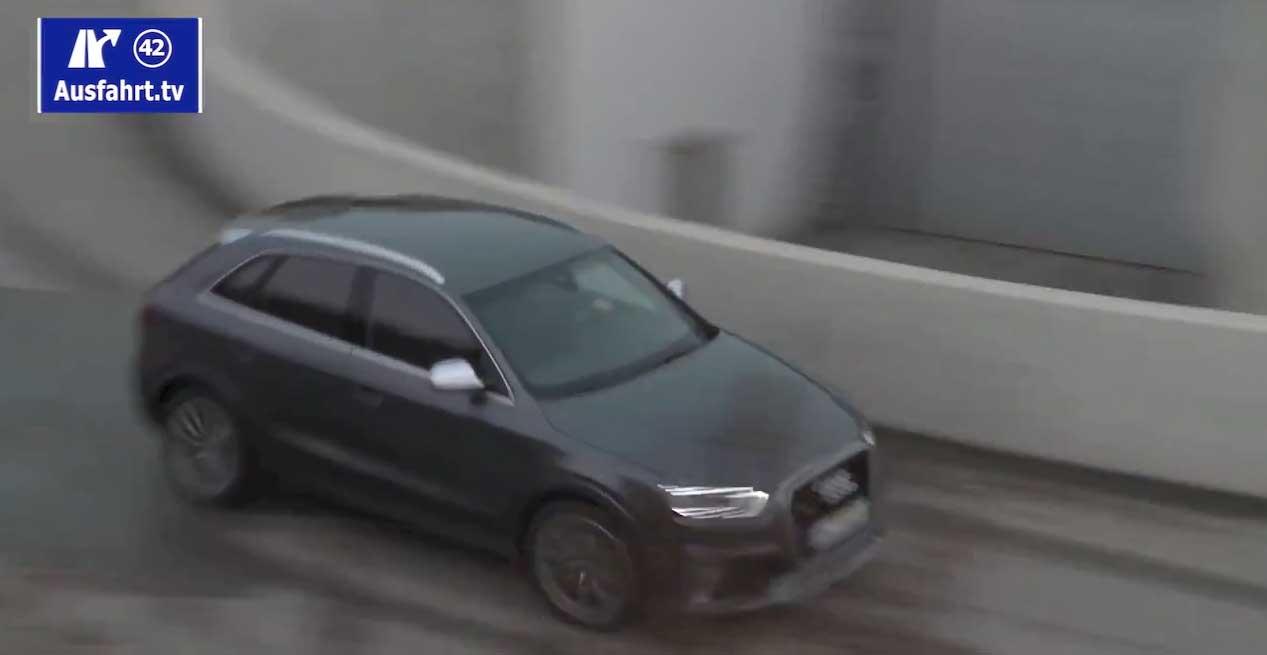 Video: So klingt der neue Audi RS Q3 (Erlkönig) – was für ein Sound!