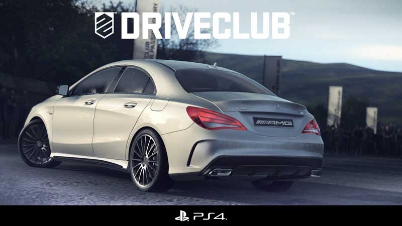 "Playstation 4 ""Drive Club"" mit Mercedes-Benz A 45 AMG und CLA 45 AMG"