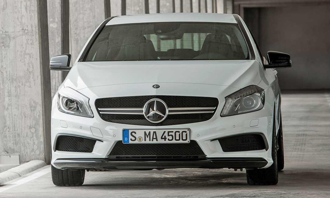 2013-Mercedes-Benz-A-45-AMG-Edition-1-Cirrusweiss-front