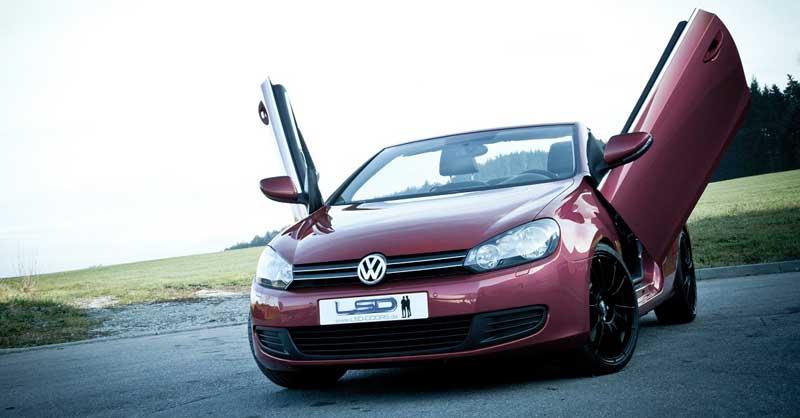 lsd-doors-vw-golf-cabriolet-fluegeltueren-rot-vorne-links