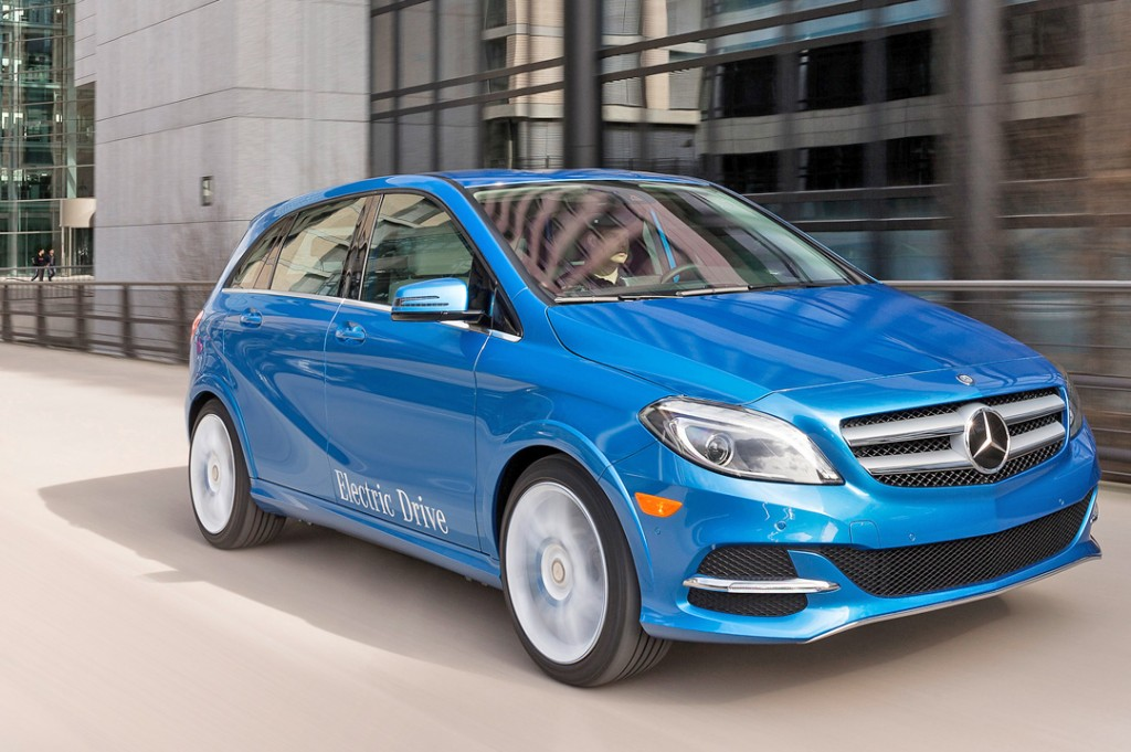 Mercedes Benz B-Klasse Electric Drive, (W 242), 2013