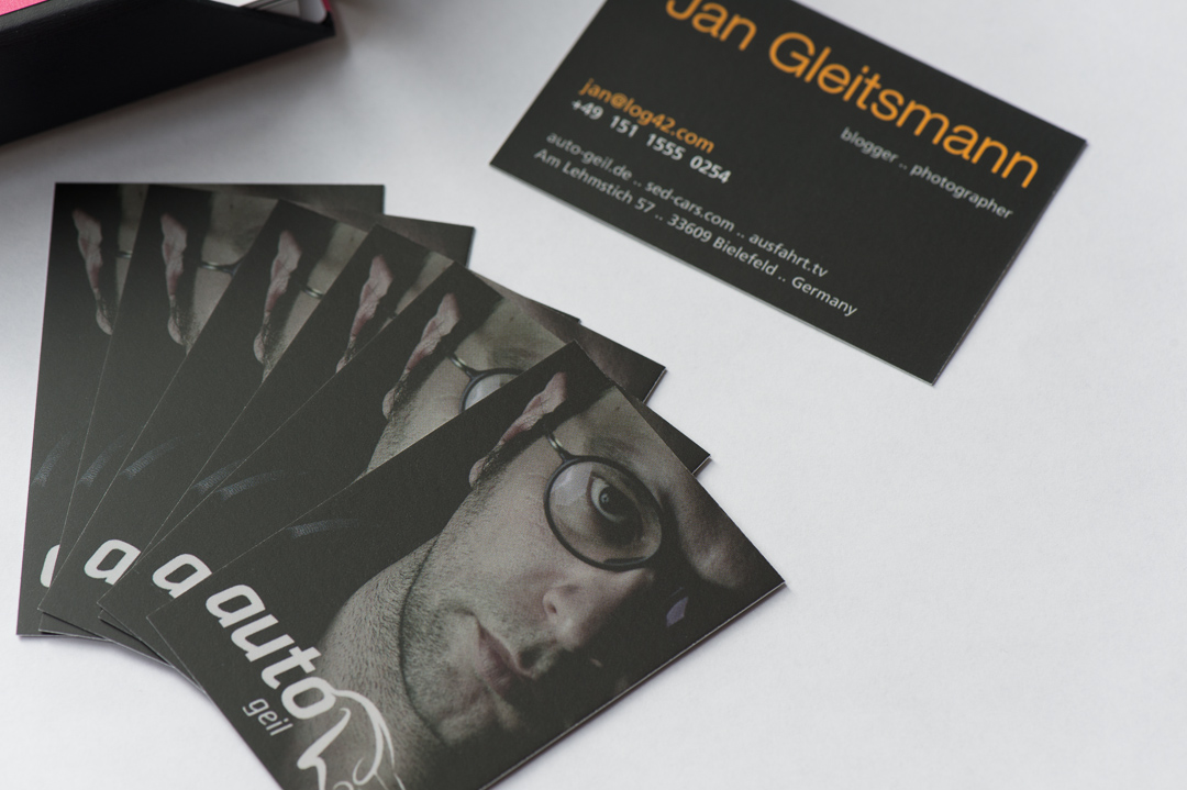 Moo Business Cards Auto Geil