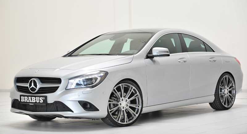 mercedes-benz-cla-tuning-brabus-silber-front