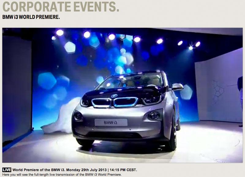 2013 BMW i3 – Gedanken nach der Weltpremiere