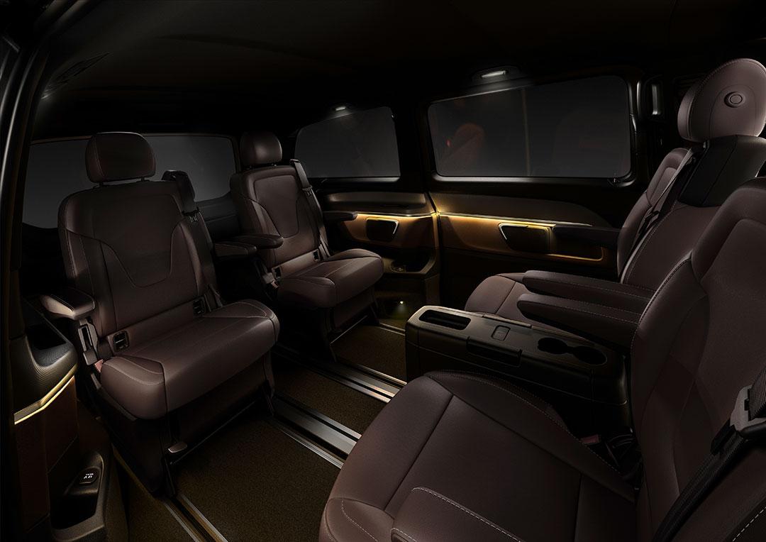 Viano-Nachfolger: Mercedes-Benz stellt das Interieur der neuen V ...