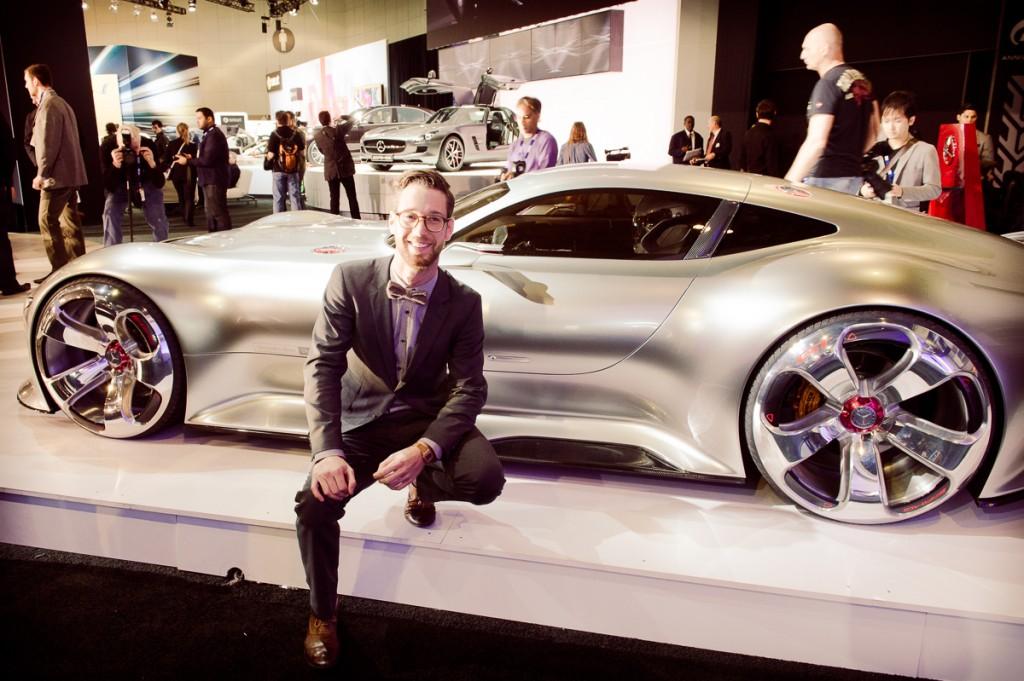 Bastian Baudy und sein Mercedes-Benz AMG Vision Gran Turismo ...