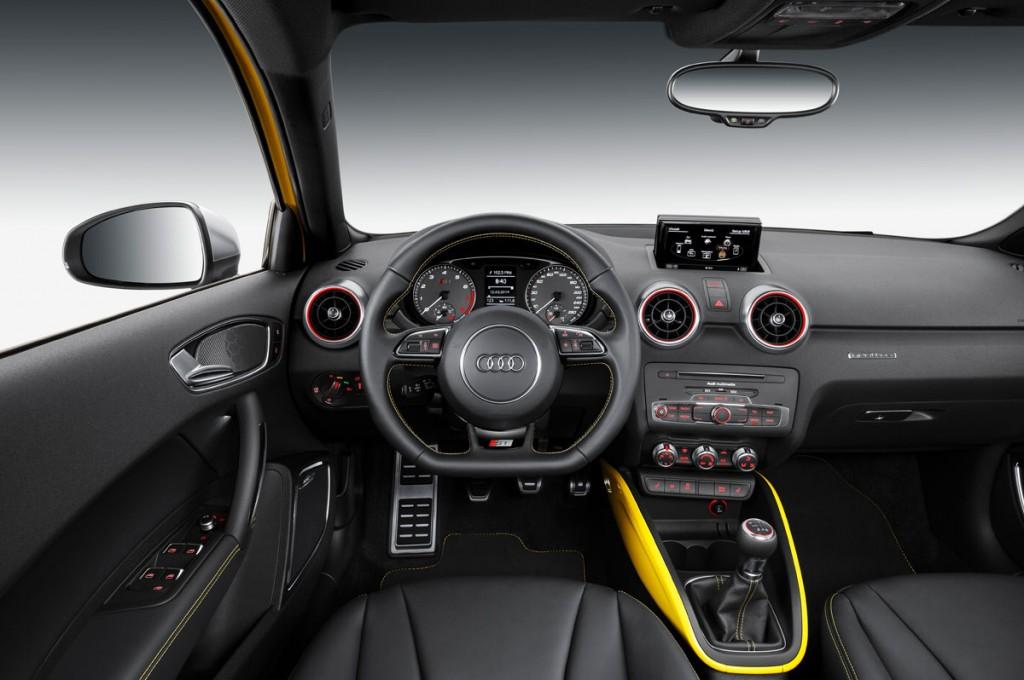 Genf-2014-AUDI-S1-gelb-Pressebild-interieur-links