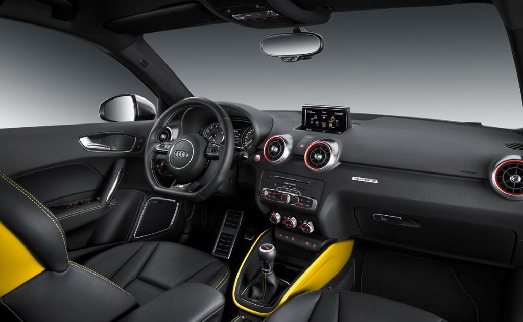Genf-2014-AUDI-S1-gelb-Pressebild-interieur-rechts