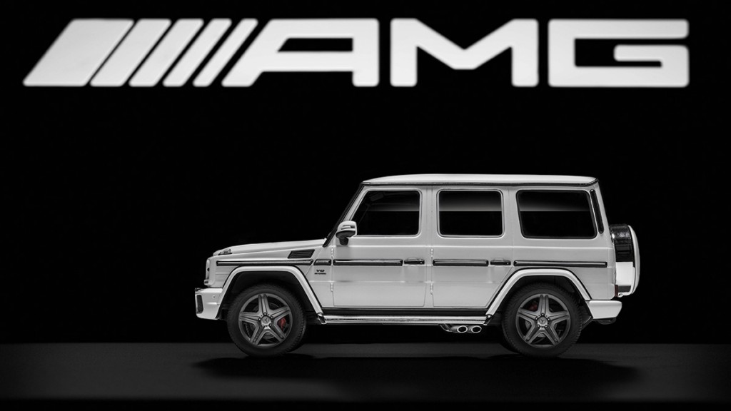 Mercedes-Benz G 65 AMG, 1:18, in designo diamantweiß bright, Re